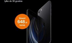 Orange iPhone SE