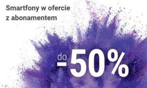 Play abonament 50 procent