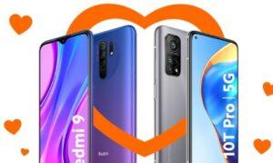 Orange Xiaomi Mi 10T gratis