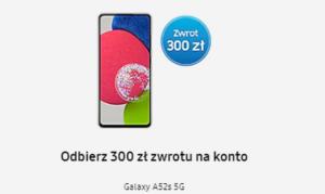 Samsung Galaxy A52s promocja